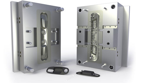 How is a rapid injection mold made?