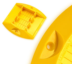 injection molding text on parts