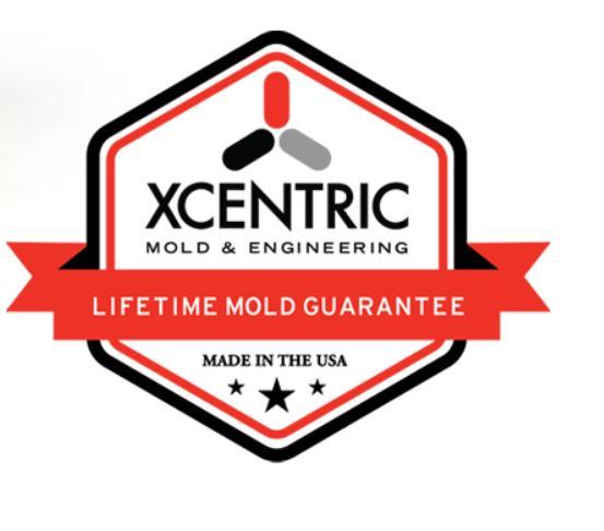 Lifetime Mold Guarantee | Xcentric | Since 1996