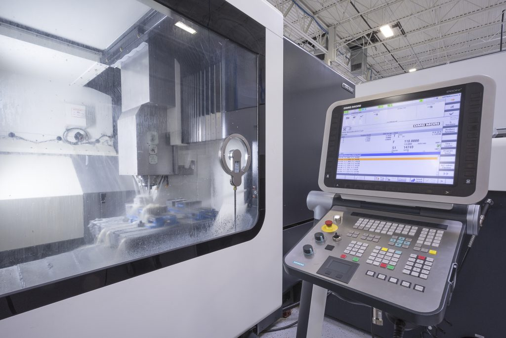 Injection molding at Shelby facility