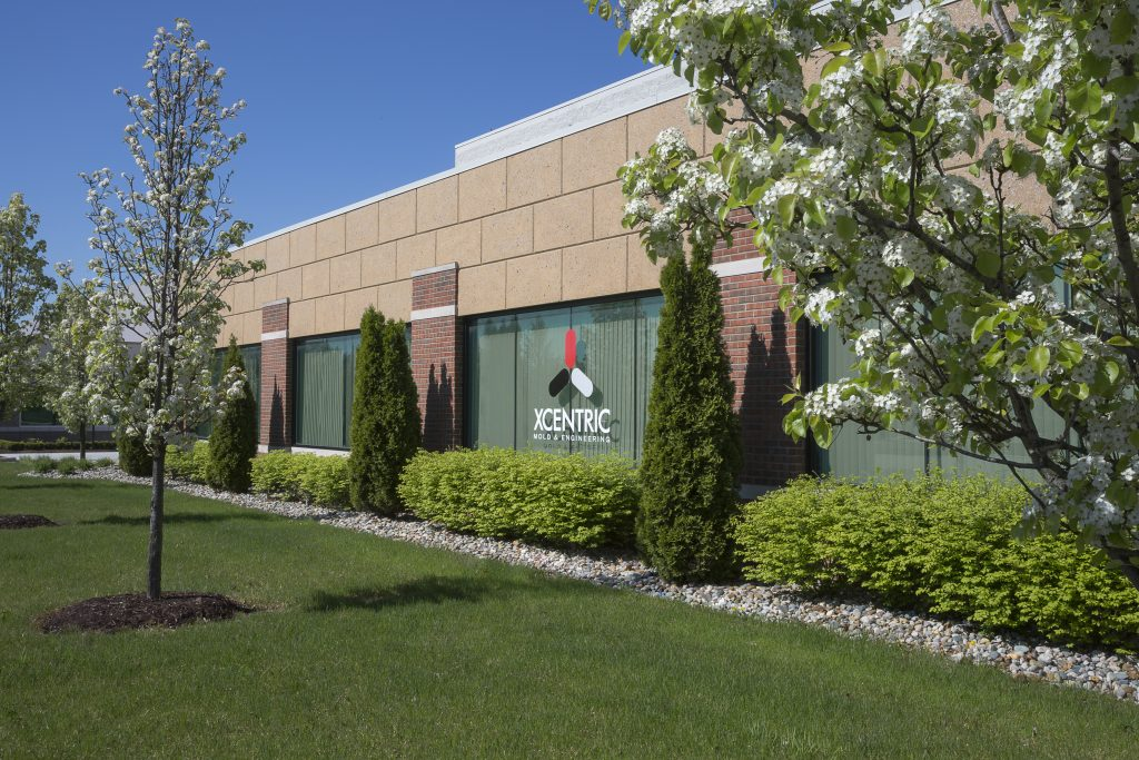 Xcentric Mold & Engineering's Shelby, MI injection molding facility