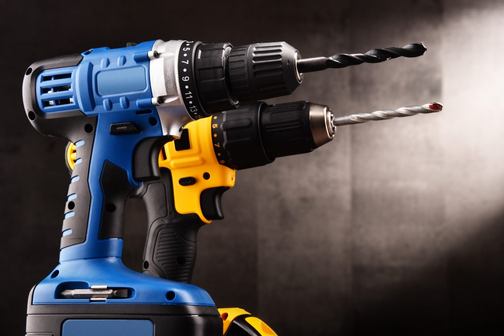 Industrial handheld drills