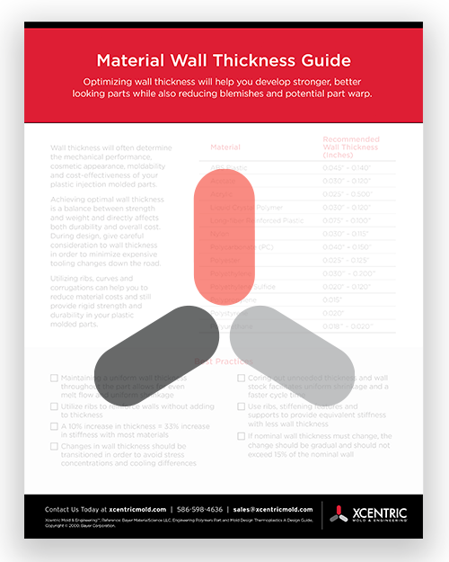 Material Wall Thickness Download